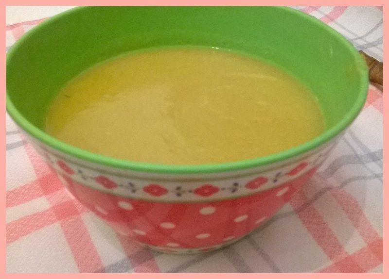 sopa de calabacín