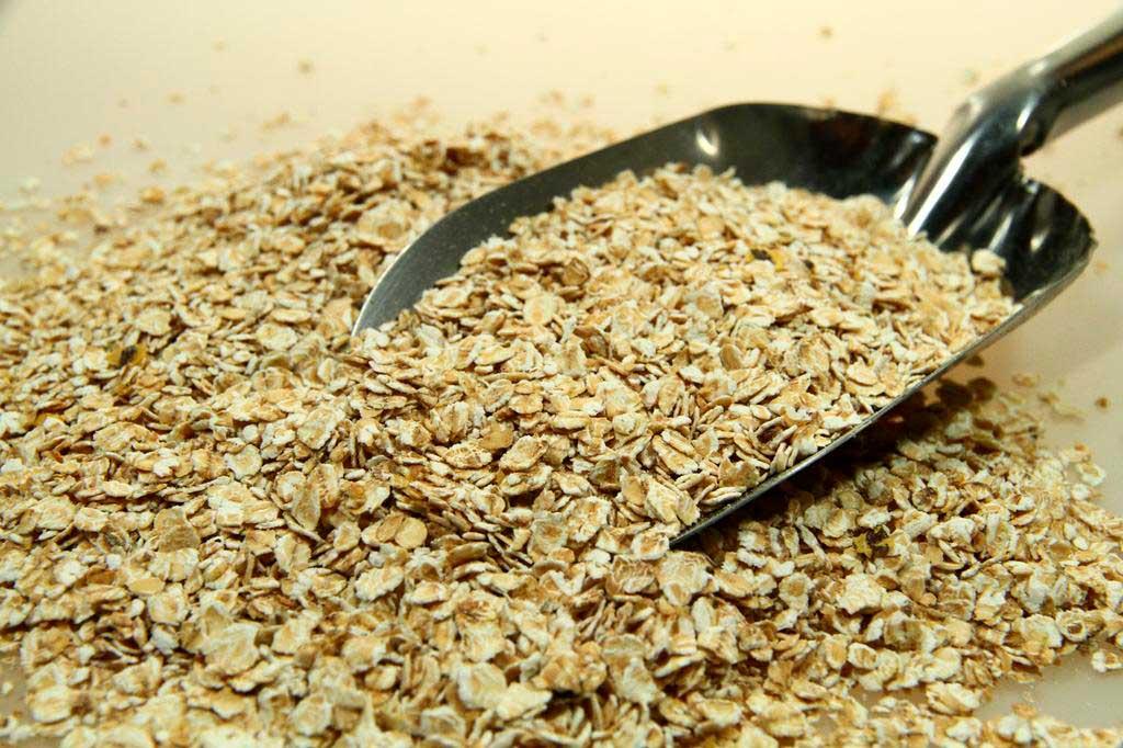 Copos de avena, puede ser una buena base para muchas recetas