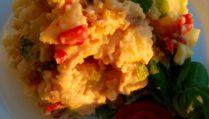 Foto receta fácil ensalada de patatas