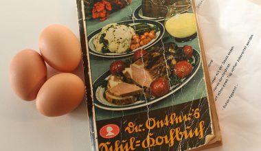 Foto libro de cocina antiguo