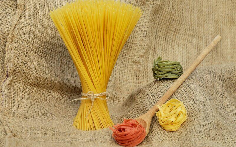 Foto variedad de pasta