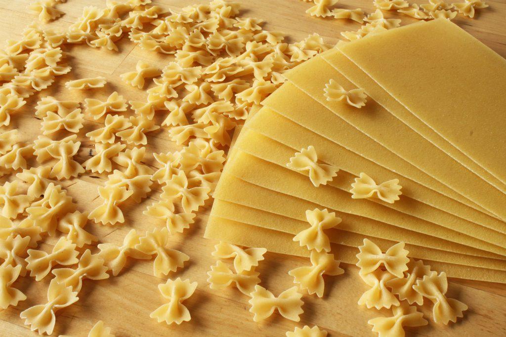 Foto pasta para lasaña