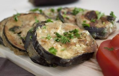 foto receta de berenjenas cocina vegana