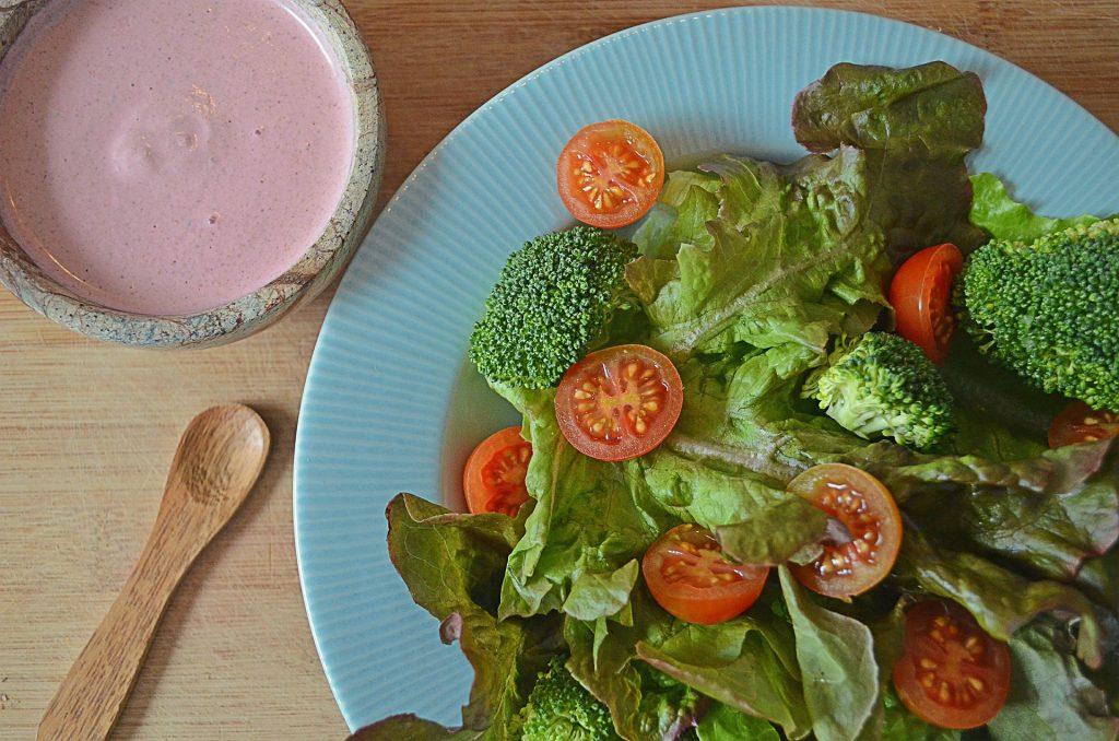 Foto ensalada brocoli